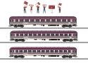 Märklin 43947, $$ Fanzug-Wagenset Euro Express
