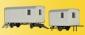 H0 Construction trailer, 2 pi
