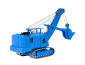 H0 MENCK excavator with face