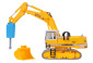 H0 LIEBHERR 974 with demoliti