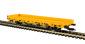 H0 Niederbordwagen mit Antrieb, gelb, Funktionsmodell für Zweileitersysteme