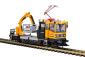 H0 Robel Gleiskraftwagen 54.22 WIEBE mit Prüfpantograph und Arbeitskorb, Funktionsmodell für Zweileitersysteme
