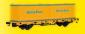 KIB/H0 Niederbordwagen mit 2 Containern GleisBau, Fertigmodell