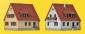 KIB/Z Siedlungshäuser aus den 30er Jahren, 2 Stück Z Siedlungshäuser aus den 30er Jahren, 2 Stück
