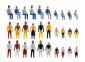 H0 Deco-set Figures adults an