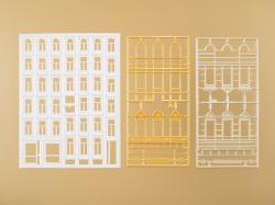 Fenster und Gewände für Wohngebäude