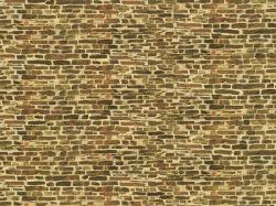 Dekorpappen Kalksteinmauer klein