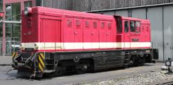 BVO Fichtelbergbahn L45H-083 diesel loco red