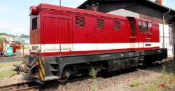 SDG L45H-358 Loeßnitzgrundbahn diesel loco red