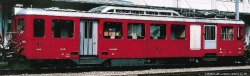 FO BDeh 2/4 43 rack track railcar dark red