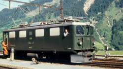 "RhB Ge 4/4 I 610 ""Viamala"" electric loco green"