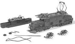 RhB Ge 6/6 I Umbausatz auf Fünfpolmotor