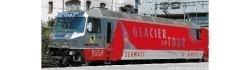 """RhB Ge 4/4 III 651 """"Glacier on Tour"""" Ausführung 2012"""