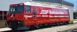 "RhB Ge 4/4 III 644 ""Savognin"" bright red design study"