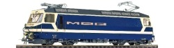 MOB Ge 4/4 8001 electric loco blue/cream