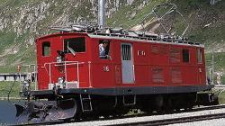 FO HGe 4/4 I 37 rack track oldtimer loco