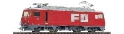 "FO HGe 4/4 II 108 ""Nufenen"" rack track loco"
