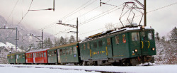 zb historic Deh 4/6 914 heritage rack track railcar digital
