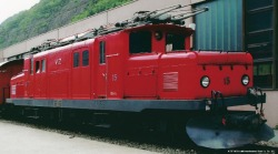 "BVZ HGe 4/4 15 ""crocodile"" rack track loco digital"
