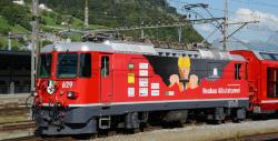 RhB Ge 4/4 II 629 Werbelok Albulatunnel mit Sound