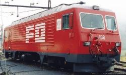 "FO HGe 4/4 II 108 ""Nufenen"" rack track loco digital"