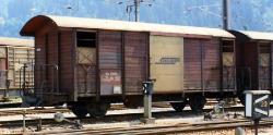 RhB Gb 5020 Gedeckter Güterwagen