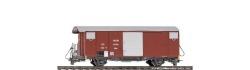 $ $ MGB Gbv 4444 ged. Güterwagen Gbv 4444 rot MGB