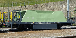 MGB Fd 4852 ballast car pale green