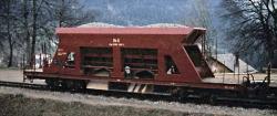 RhB Fad 8701 (OS 6t) ballast car (1970s)