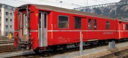 RhB D 4221 baggage car red