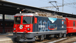 RhB Ge 4/4 II 619 Anniversary locomotive 100 years Bernina digital with sound (Fama/Utz)