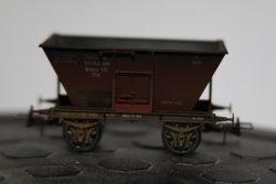 $ Kohletrichterwagen Otw DRG Mainz Ep. II patiniert, Sonderausgabe 65 Jahre BRAWA auf der Internationalen Spielwarenmesse