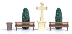 Steinkreuz & Lebensbäume H0