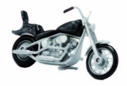 US-Motorrad schwarz