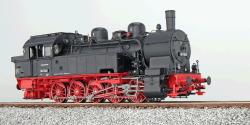 Dampflok, H0, BR T16.1, 94 1243, DB, Ep III, schwarz, Vorbildzustand um 1958, LokSound, Raucherzeuger, Rangierkupplung, DC/AC