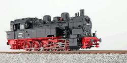 Dampflok, H0, BR T16.1, 094 652-5, DB, Ep IV, schwarz, Vorbildzustand um 1970, LokSound, Raucherzeuger, Rangierkupplung, DC/AC