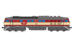 Diesellok, H0, BR 132, 622.01, EVB Ep V, rot-creme, Vorbildzustand um 2000, LokSound, Raucherzeuger,  DC/AC