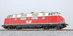 Diesellok, H0, V200, 417 01 EVB, Rot-Beige, Ep. V, Vorbildzustand um 2003, Sound+Rauch, DC/AC