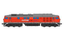 Diesellok, H0, BR 132, RN 232 109, Railion NL Ep VI, verkehrsrot, Vorbildzustand um 2006, LokSound, Raucherzeuger,  DC/AC