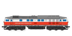 Diesellok, H0, BR 132, 232 409, East-West, Ep VI, Rot-Weiß, Vorbildzustand um 2015, LokSound, Raucherzeuger,  DC/AC