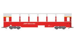 Panoramawagen BEX, Pullman IIm, RhB A 1292, rot, Ep V