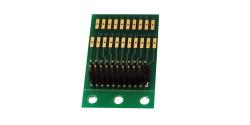 Adapter board for LokSound V3.5, LokPilot V3.0 with 21MTC