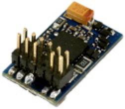 LokPilot Standard DCC, PluX12 Schnittstelle, 4 verstärkte Ausgänge + 0 Logikausgänge