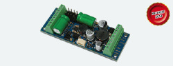 LokPilot XL V4 MM/DCC/SX/M4, 8 Ausgänge, 4 Servo, Powerpack, mit Schraubklemmen