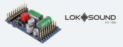 LokSound 5 L Dampf Universal Schmalspur BR99 Stiftleiste