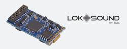 LokSound 5 DCC/MM/SX/M4 Leerdecoder, 21MTC NEM660, Retail, mit Lautsprecher 11x15mm, Spurweite: 0, H0