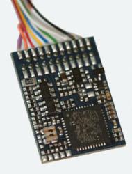 LokPilot V4 M4, Multiprotokoll MM/DCC/SX/M4, PluX12 am Kabelbaum