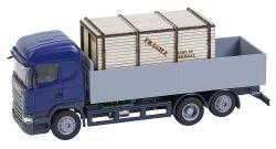 LKW Scania R 13 HL Pritsche mit Holzkiste (HERPA)