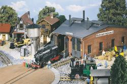 Shunting Shed, Double-track