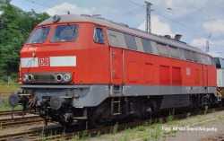 Diesllok BR 225 AC-Snd.